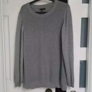 Silver knit sweater